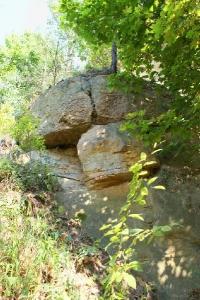 Nieczynny kamieniołom w Młynku