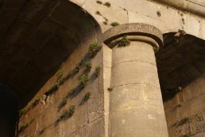 Dawny przelew wodny w Brodach