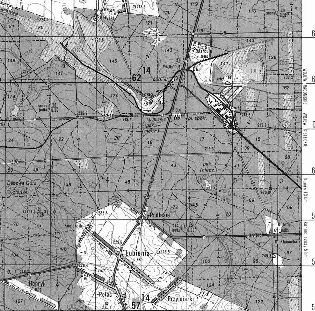 1987-stara-mapa-sztabowa-brody-starachowice-swietokrzyskie-lubienia-b.JPG